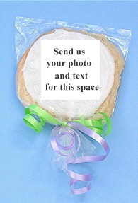 Custom edible photo cookie